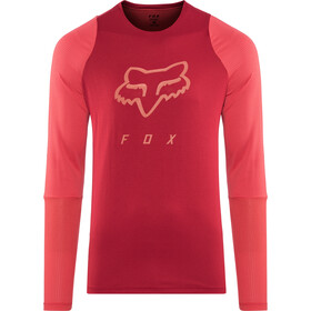 Fox Defend Foxhead LS Jersey Men cardinal